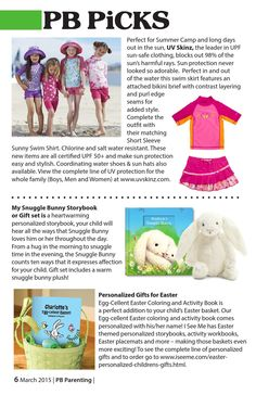 """Perfect for Summer Camp and long days out in the sun, UV Skinz, the leader in UPF sun-safe clothing, blocks out 98% of the sun's harmful rays."" -Palm Beach Parenting Magazine"