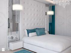 sypialnia Glamour - zdjęcie od Beautiful Minds Projektowanie Wnętrz
