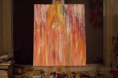 Rain #acrylic #abstract Rain, Abstract, Instagram Posts, Painting, Rain Fall, Summary, Painting Art, Paintings, Waterfall