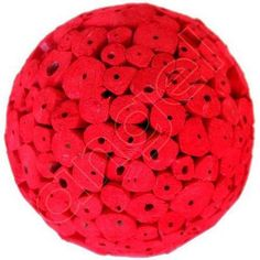 Red Large Christmas Tree Balls by Angel Aromatics | Available at http://www.angelaromatics.com.au/scented-bowl-decorations/red-large-christmas-tree-balls