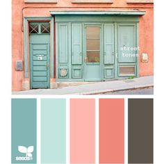 Design Seeds for all who color street tones