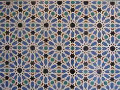 I Loved These Islamic Tile Mosaic Patterns