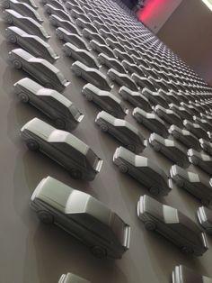 Audi design wall at Pinakothek der Moderne, Munich – Germany » Retail Design Blog
