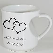 Resultado de imagen de tazas personalizadas para bodas