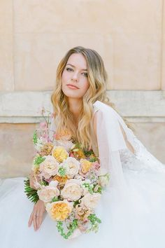 We've found it! The real life 💐 emoji! This handful of blooms designed by @floresie is guaranteed to inspire springtime brides. LBB photographer @oliverflyphotography used an artful approach to capture this beautiful sunlit moment at @chateaumartinay. 😍 | Photography: @oliverflyphotography #stylemepretty #weddingbouquet #springwedding #weddingflowers Wedding Make Up, Spring Wedding, Wedding Day, Wedding Bouquets, Wedding Flowers, Wedding Dresses, Wedding Hair And Makeup, Hair Makeup, Makeup Inspiration