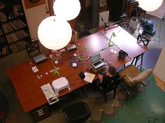 The offices, set up in a variety of ways but emphasizing open space and the ability to rent a single desk, are also known as co-working spaces. Such offices have long been popular with technology start-ups in the San Francisco Bay Area looking for cheap space, but as the latest tech wave rises, shared workspaces are popping up in cities around the country.