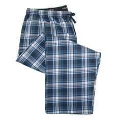 Soft easy care fabric will keep you cool and comfortable. A drawstring and an elastic waistband provide a great fit. The fly is buttoned, and there are two on seam pockets.