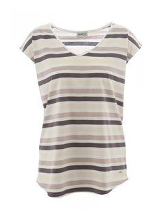 T-shirt col V - coton - Armor-Lux