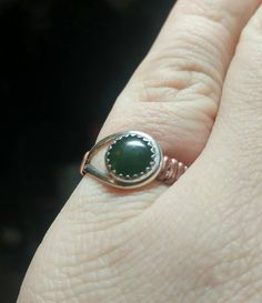 New in our shop! Simple Green Ring |  Green Jade Ring | Sterling Silver Ring Copper Straps Sz 6 | Nephrite Jade ...  https://www.etsy.com/listing/497233699/simple-green-ring-green-jade-ring?utm_campaign=crowdfire&utm_content=crowdfire&utm_medium=social&utm_source=pinterest