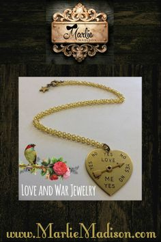 Love me, Love me Not Necklace http://www.marliemadison.com/accessories/jewelry/love-me-love-me-not-necklace