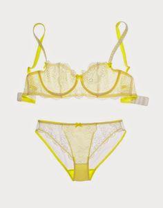 New Ladies Lemon olga large fantasie bras And Matching Panties and Thongs Vanity Fair Bras, Wacoal Bra, Full Figure Bras, Swimming Outfit, Yellow Bikini, Pretty Lingerie, Bra And Panty Sets, Love Fashion, String Bikinis
