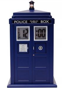 a doctor who tardis projection alarm clock doctor who