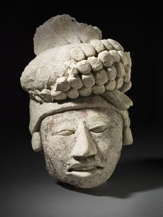 Modeled Head of a Nobleman Mexico, Northern Lowlands, Maya, 600-900 LACMA
