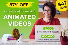 Create Animated Videos and Whiteboard Animations with Animatron - 87% off! http://pic.twitter.com/znrVpowC7I   Game Designer World (@LoveDesignGame) April 26 2017