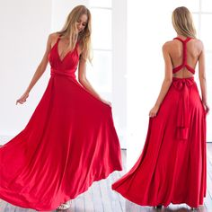 Amazing red dress!Perfect for almost any occasion.
