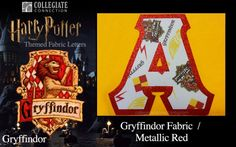 House of Gryffindor from Harry Potter Themed Sewn-On Letters from Collegiate Connection