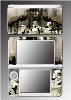Star Wars Empire Stormtrooper AT ST Jedi Video Game Vinyl Decal Cover Skin Protector 6 for Nintendo 3DS XL $9.98 Your #1 Source for Video Games, Consoles & Accessories! Multicitygames.com