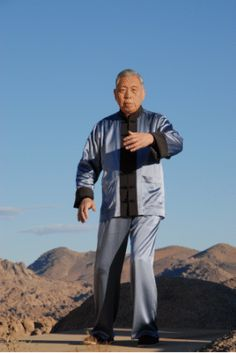 William C.C.Chen's latest video shows the Master practicing the 60 movement tai chi form.