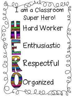 Classroom super hero sign (LOTS of great super hero ideas)!!!!!