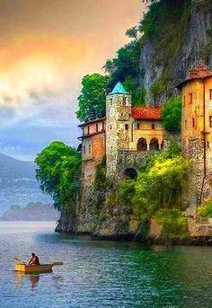 Seaside, Varese, Italy.