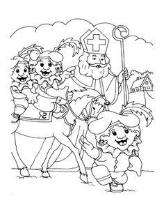 Onderwijs en zo voort ........: 1841. Sinterklaas kleurplaten : 15 Kleur-, Puzzel-...