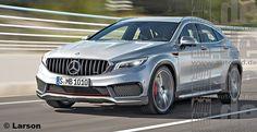 Следующая генерация Mercedes-Benz GLA должна появиться только в 2019 г., но…