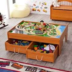 Breathtaking Train Table With Storage