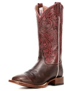 Tony Lama | Midnight Brown Fargo Cowgirl Boot | Country Outfitter