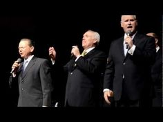 Revel in this song from the past, sung in the present by the original Greater Vision! Members Gerald Wolfe, Mark Trammell and Chris Allman at the 2012 Mark T. Christian Song Lyrics, Christian Singers, Christian Music Videos, Pentecost Songs, Gaither Homecoming, Southern Gospel Music, Spiritual Songs, Praise Songs, Greatest Songs
