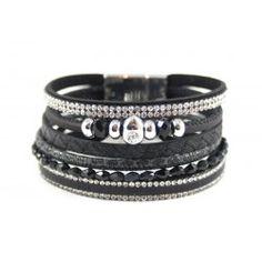 Armbanden set: Zwart