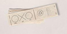 OXOUNO cotton printed hem tag delta theme