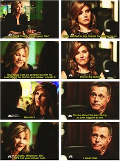 Lindsay and Bunny - 2x02  Voight and Lindsay - 2x03 (She knows who her real family is <3)