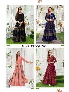 Order #Shaheen Long GOWN Mom1250 Daughter 1180 on WhatsApp number +919619659727 or ArtistryC.in Kids Gown, Kurti, Salwar Kameez, Collar Styles, Anarkali Suits, Indian Ethnic, Girls Wear, Lehenga Choli, Indian Wear