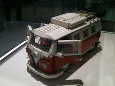VW bus lego