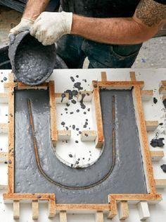 Comment fabriquer un banc en béton
