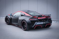 FAB Design presents VAYU GTR Coupe package for McLaren MP4 12C, 650S