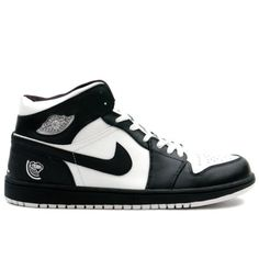 big sale 7d2d3 8d018 Air Jordan 1 Retro Quai54 Black White 136085-011 Nike Dunks, Nike Shox,