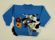 Child's knitted sweater. Baby clothing. Baby sweater. by VandOUA, $40.00
