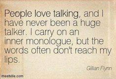 #INFJ.....Inner monolog: