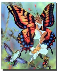You can add some mystic fantasy and adventure in your home by getting this Butterfly Fairy Home Decor Wall poster. This lovely wall poster is sure to bring a pretty atmosphere into your place. This poster delivers a sharp vivid image with a high degree of color accuracy which ensures long lasting beauty of the product. Order today and enjoy your surroundings.