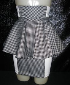 Trendy Peplum belt attachment accessory skirt with by GetWaisted, $40.00