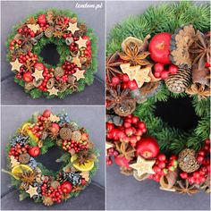 beautiful christmas wreaths - tendom / PL