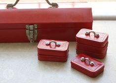 Mini tool boxes made from Altoids tins LOVE LOVE