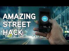 Hackeando la ciudad desde el movil para promocionar un videojuego