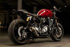 Yamaha Cafe Racer by Macco Motors - Photos by Sergio Ibarra Cafe Bike, Cafe Racer Motorcycle, Custom Street Bikes, Custom Bikes, Triumph Bonneville Custom, Xjr 1300, Cb 500, Cafe Racing, Cool Motorcycles