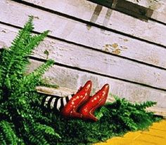 Ruby slippers Halloween idea