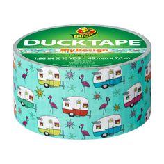 Printed Duck Tape® - Happy Camper   Duck® Brand