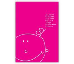 Lustige rosa Glückwunsch-karte zur Geburt und Taufe - http://www.1agrusskarten.de/shop/lustige-rosa-gluckwunsch-karte-zur-geburt-taufe/    00012_0_617, Baby, Geburt, Glückwunschkarten, Gratulation, Gratulation zum Mädchen, Grußkarte, Helga Bühler, Klappkarte, rosa, Spruch, Sprüche, Taufe, Taufkarte00012_0_617, Baby, Geburt, Glückwunschkarten, Gratulation, Gratulation zum Mädchen, Grußkarte, Helga Bühler, Klappkarte, rosa, Spruch, Sprüche, Taufe, Taufkarte