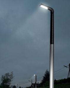 Met het oog op het milieu gericht, hebben wij gekozen voor de Mira 190 s-solar lichtmast. Met een lichtmasthoogte van 4.40m die werkt op zonne-energie en als het nodig stroom de paal kan bijspringen als hij niet genoeg zonne-energie heeft opgevangen. Marciano Mascini