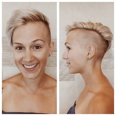 Loving this edgy cut ♡ By Laura